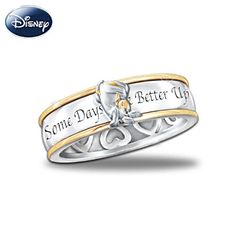 Some Days Look Better Upside Down Eeyore Spinning Ring. And yet another thing I need to search for.