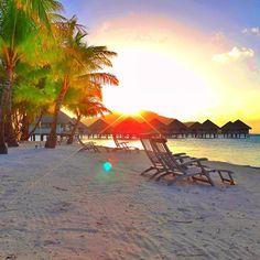 Le Meridien Resort in Bora Bora. Photo courtesy of mthiessen on Instagram.