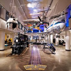 FamilyFun's Top 12 Family Vacation Destinations: #12 Museum of Science and Industry, Chicago
