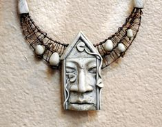 https://flic.kr/p/i9JarJ | 4-12 Pam Sanders house face necklace 2