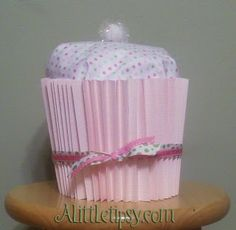 Baby Shower Cupcake Gift - A Little Tipsy
