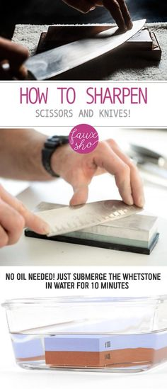 How to Sharpen Knive