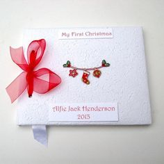 First Christmas Washing Line Book £29.95