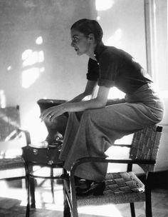 Lisa von Cramm, by Marianne Breslauer. Berlin, 1934.