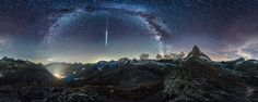 Helvetia by Night 360 is my newest time-lapse project. The first time in 360°. I used 4 DSLR in a 360° rig. A total of 55'000 photos were shot for this video between June and September 2016.       Deutsch --------------------------------------------------------------------------------------  Tauchen Sie voll ein in die Schweizer Bergwelt bei Nacht, vom Creux du Van, an den Fuss des Matterhorns und rauf zum Pilatus.    Helvetia by Night 360 ist mein neuste Zeitrafferprojekt und das erste Mal…