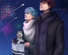 New Year [with you} by NawaneN