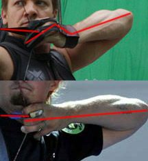 Even though info was helpful still love Hawkeye-- gott agree with the weapons guy in the movie industry I'm sure there's a lot done for other reasons besides complete technical accuracy with that said info will be very helpful with my practice Archery Lessons, Archery Tips, Archery Hunting, Bow Hunting, Archery Quiver, Hunting Arrows, Archery Sights, Traditional Archery, Traditional Bowhunting
