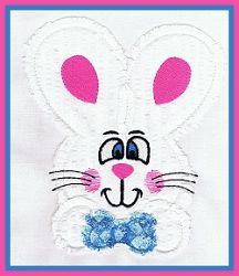 Raggedy Bunny Applique - 3 Sizes! | Easter | Machine Embroidery Designs | SWAKembroidery.com Abigail Michelle