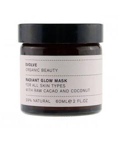 Masque éclat radieux cacao brut et coco - 60 ml
