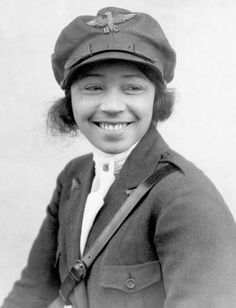 Bessie Coleman (1892 -1926) Bessie Coleman was the first black woman to earn a pilot's license, in 1921. Because women were not allowed at flying schools in the United States, she had learned French and moved to France. There she earned her license from Caudron Brother's School of Aviation, then went on to become an air show pilot in the U.S. In 1926, she died in a plane crash during an aircraft testing.