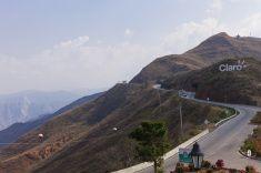 Colombia - Road Bucaramanga to San Gil in Santander stock photo