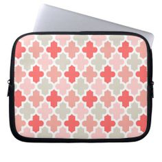 Modern Moroccan Pattern Laptop Sleeves http://www.zazzle.com/modern_moroccan_pattern_laptop_sleeves-124559676131431494?rf=238194283948490074&tc=pfz #quatrefoil #pattern #modern #geometric #lattice #clover #moroccan #trellis #preppy #cute #classic #girly #graphic #design #shape #lines #white #laptopsleeves #zazzle
