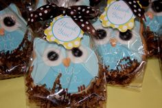 "Photo 7 of 17: Owls / Baby Shower/Sip & See ""Look Whooo's having a Baby!"" 