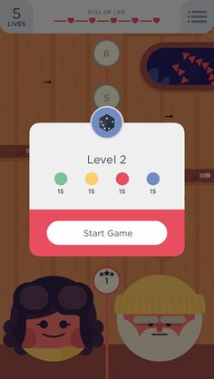 Two dots app #UI: