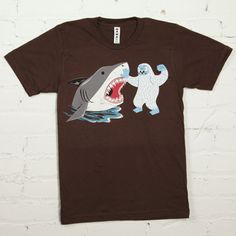 Need to feel that extra sense of manliness - I recommend a Shark Punch tee