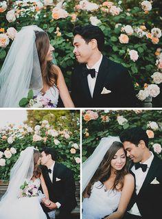 Breathtaking couple! | http://www.weddingpartyapp.com/blog/2014/08/06/dreamy-summer-garden-wedding-katie-pritchard-photography/