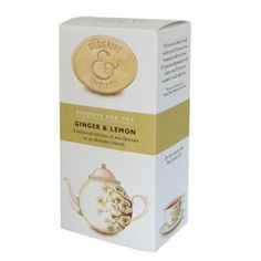 Elegant & English Ginger & Lemon Biscuits