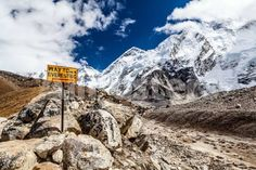 Mount Everest Signpost by Gerard ter Borch Landscapes Photographic Print - 61 x 41 cm