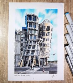 "338 Likes, 7 Comments - A Travel Diary (@_atraveldiary_) on Instagram: ""Czech Republic  - @glenngeraldi • • • • • • Repost from @glenngeraldi - #dancinghouse #frankgehry…"""