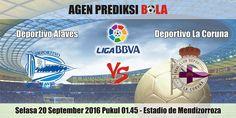 Prediksi Bola Alaves vs Deportivo La Coruna 20 September 2016