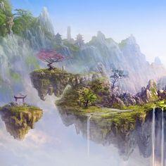 xianxia fantasy world art