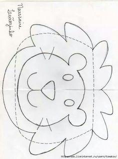 Molde leão
