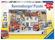 Bei der Feuerwehr Puzzles;Kinderpuzzle Ravensburger