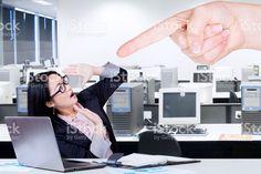 Female entrepreneur getting intimidation stock photo 57161232 - iStock