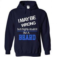 Beard - #boys hoodies #hoodies womens. PURCHASE NOW => https://www.sunfrog.com/Names/Beard-1590-NavyBlue-21229486-Hoodie.html?60505