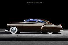 AmericanMuscle.de - Fotoshooting: 1952 Chevyllac Kustom