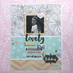 Lovely Beautiful Fabulous by Amanda Baldwin for Cocoa Vanilla Studio - Scrapbook.com