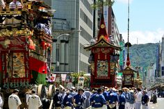"【SUMMER】 ""Gion Festival"" : the Largest Japanese Festival in Kyoto"