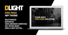 D-Light - One Page Wordpress Creative Template   http://themeforest.net/item/dlight-one-page-wordpress-creative-template/7195893?ref=damiamio        D-light is a multi-purpose, creative one page website. With our amazing content builder you can change the pages in no time and easily create / modify the website as you see fit. Try it out, you will not be disappointed.   Our POPULAR Wordpress templates!  Support 	   Credits 	 All images used in the preview are only for demo purposes and not…