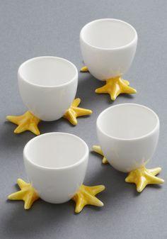 Cute Egg Cup Set