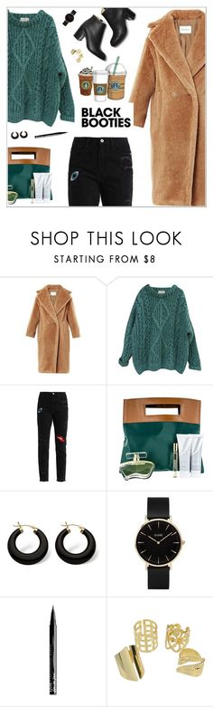 """""""Без названия #2185"""" by nastenkakot ❤ liked on Polyvore featuring Essentiel, Cotton Candy, Palm Beach Jewelry, CLUSE and NYX"""