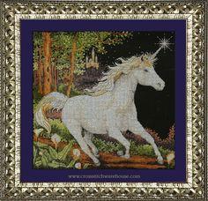 Needlecraft and crossstitch patterns Fantasy Cross Stitch, Unicorn, Moose Art, Classic, Pattern, Collection, Derby, Patterns, A Unicorn