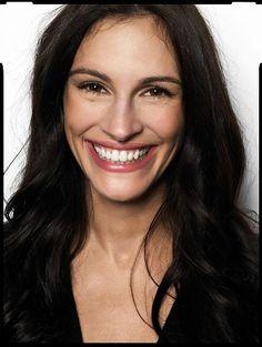 Julia's smile.