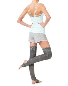 Sweaty Betty - Chaines Dance Leg Warmers - grey