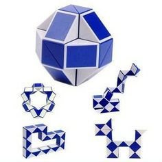 48 Part Triangle Folding Magic Snake Education Cube Puzzle For Baby Child Adult Brand New-in Puzzles from Toys & Hobbies on Aliexpress.com