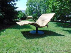Sonnenliege SunDivan Backyard Gazebo, Modern Pools, Garden Chairs, Outdoor Furniture, Outdoor Decor, Sun Lounger, Bench, Architecture, Diy