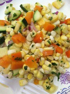 Day 22! Thanks to @Kara Botts this yummy salad was amazing!