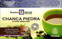 Chanca Piedra - StoneBreaker Filter Tea 3 Pack Nuestra Salud >>> Want to know more, click on the image. (This is an affiliate link and I receive a commission for the sales)