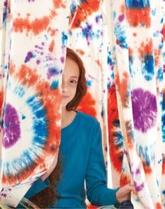 DIY Tie Dye Fort Kit // We Made It by Jennifer Garner