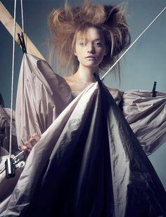 Gemma Ward by Craig McDean for Vogue Italia February 2005
