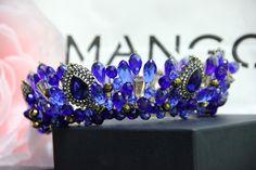 """Купить Корона """"Варуна"""" - корона, украшение для волос, диадема, тиара, свадьба…"""