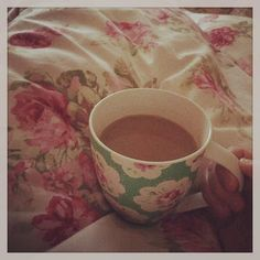 I think the last time I got a cup of tea is bed was Mothers' Day 2015  To be honest I'm itching to go get my crochet (must have some emergency crochet stashed under the bed at all times in future!) but I've got to pretend I'm having a 'lie in' by littledovecrochet