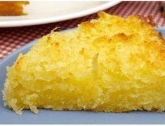 Ingredientes Pão-de-ló: 1 colher (sopa) de margarina;; 2 colheres (sopa) de fermento químico em pó; 1 copo (americano) de suco de laranja; 2 xícaras (chá) de açúcar; 3