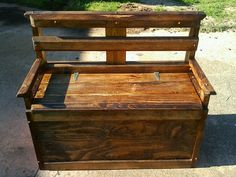 """Handmade this """"TIMEOUT"""" Storage/Bench for a friend of mine and it is great for adults and kids alike to sit...take their shoes off...and take a minute to think about what they have done..."""