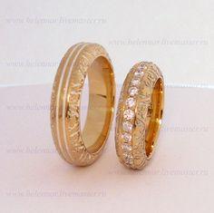 Купить Обручальные кольца с виноградной лозой - кольца, обручальные кольца…