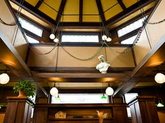Frank Lloyd Wright Home & Studio traditional home office